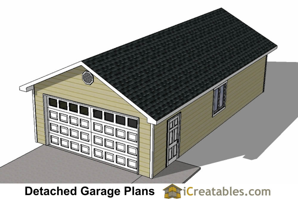 20x40 garage plans 20x40 detached garage plans