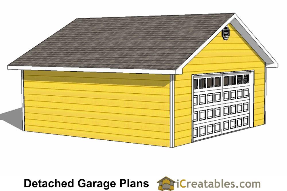 24x24 garage plans 2 car garage plans for Free 24x24 garage plans