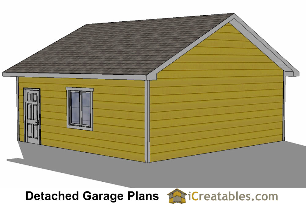 24x24 garage plans 2 car garage plans for 2 door garage plans