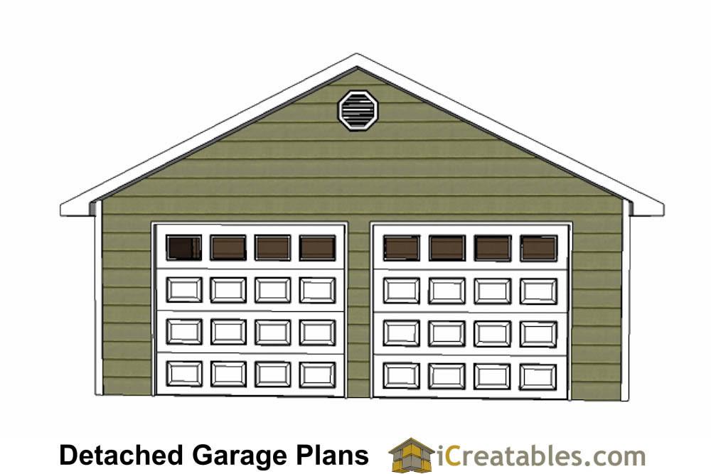 24x26 Garage Plans DIY Home Improvement Custom Garage Plans – 24 X 26 Garage Plans