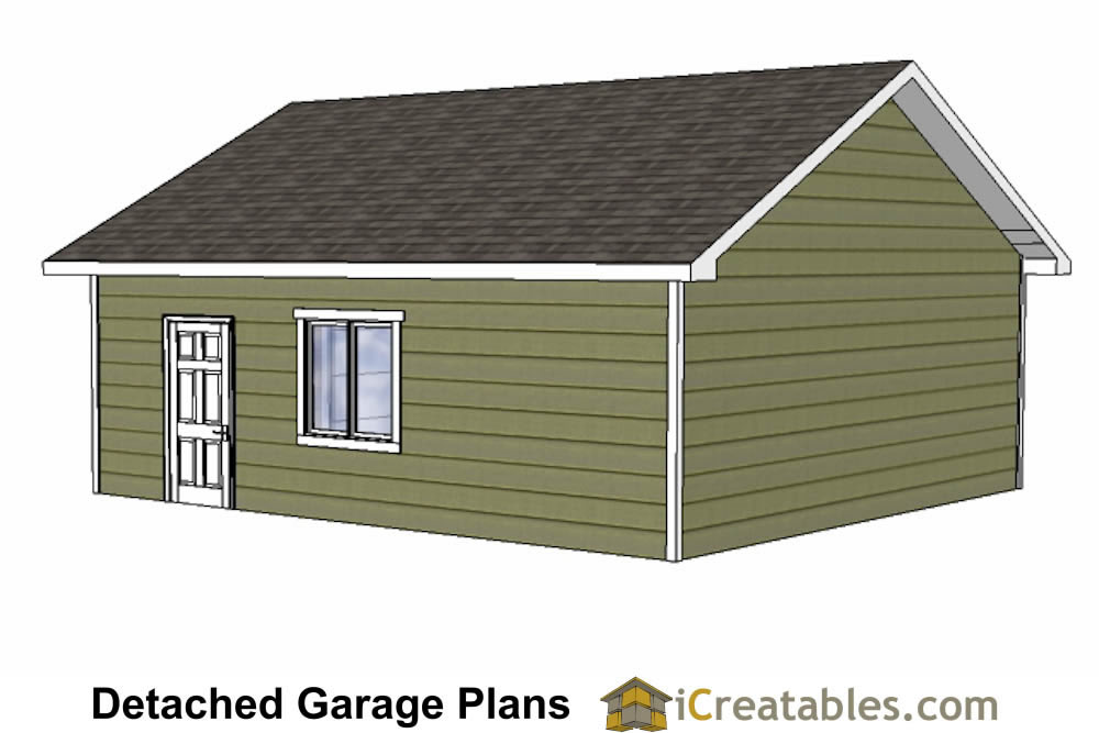 24x26 garage plans diy home improvement custom garage for Unique garage plans