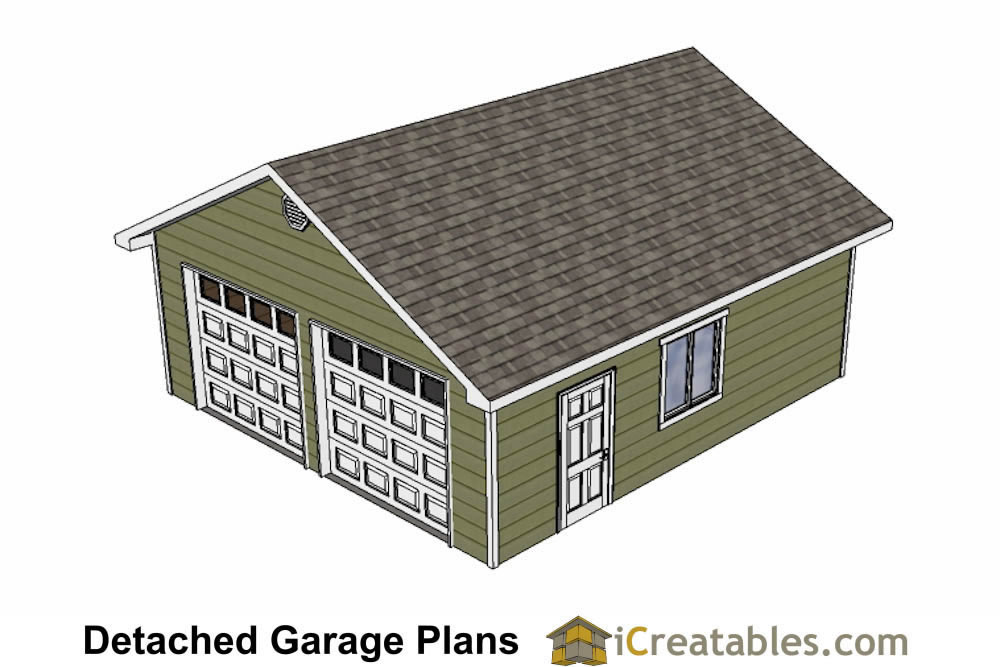 24x26 garage plans diy home improvement custom garage for 2 door garage plans