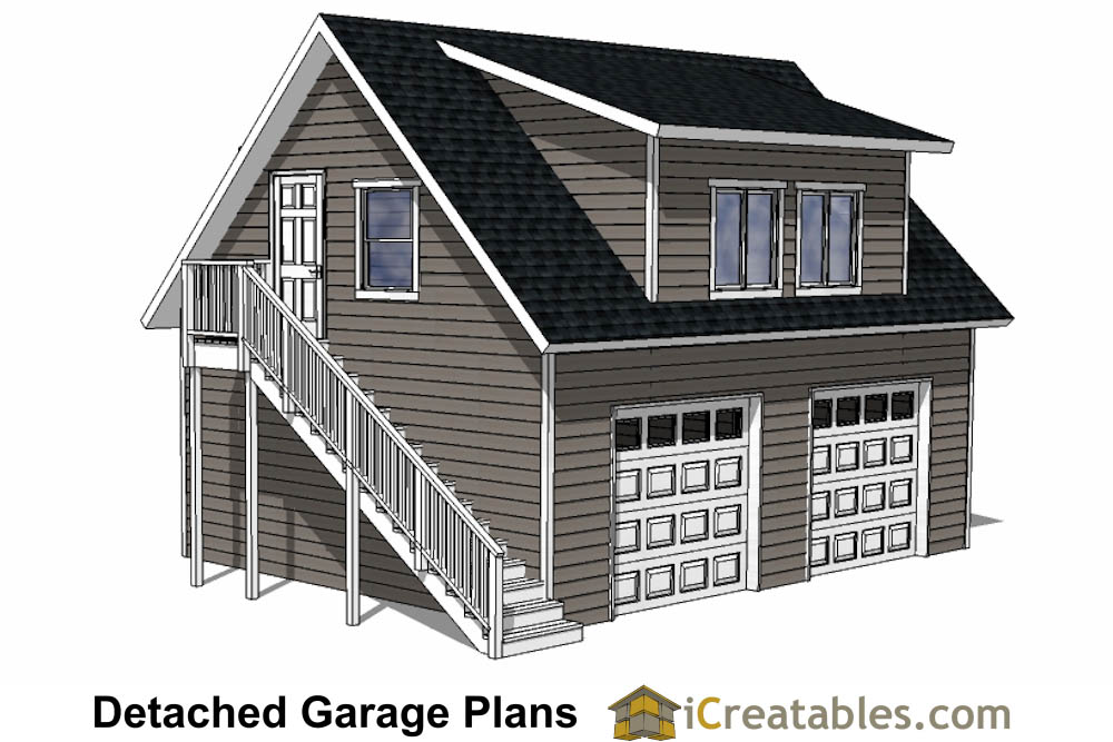 24x28 Garage Plans With Apartment - Shed Design Plans