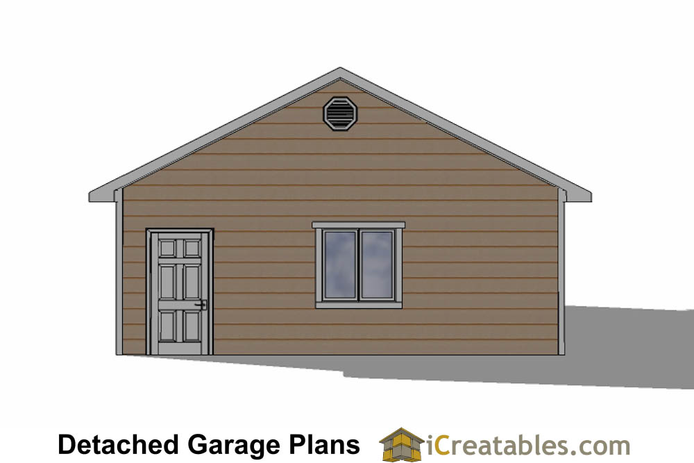 24x34 garage plans 3 car garage plans 2 doors
