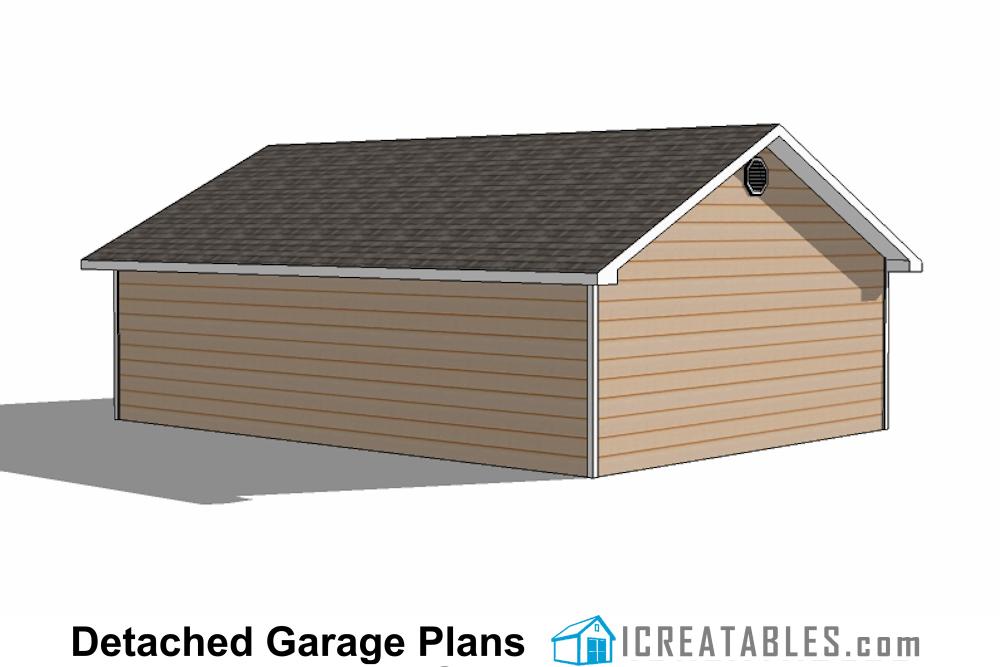 24x34 Garage Plans 3 Car Garage Plans – 28X28 Garage Plans