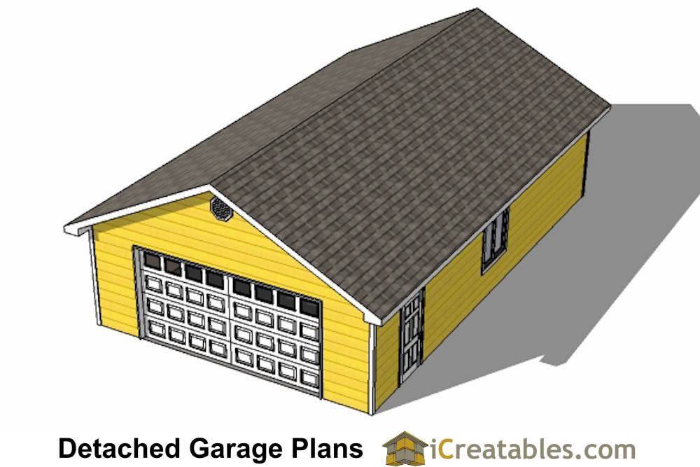 3 Car Garage Block : Garage plans detached