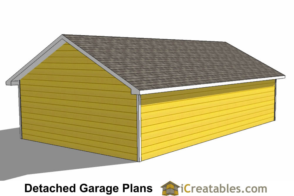 24x40 garage plans 24x40 detached garage plans for 25 x 40 garage plans