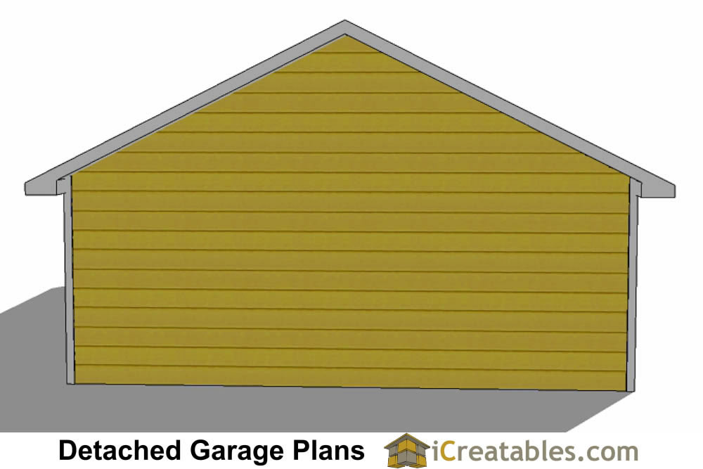 24x40 garage plans 24x40 detached garage plans for 2 door garage plans