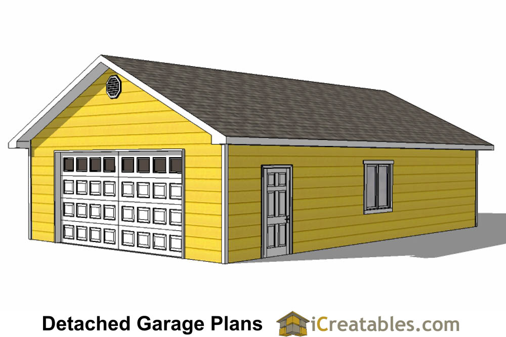 3 Car Garage Plans How to Build a Custom Garage DIY – 24X40 Garage Plans