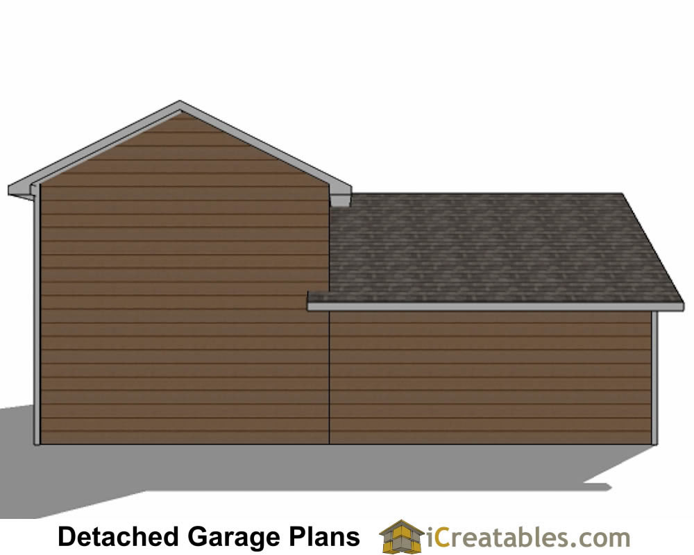 34x38 rv garage plans with 2 car garage for 2 stall garage plans