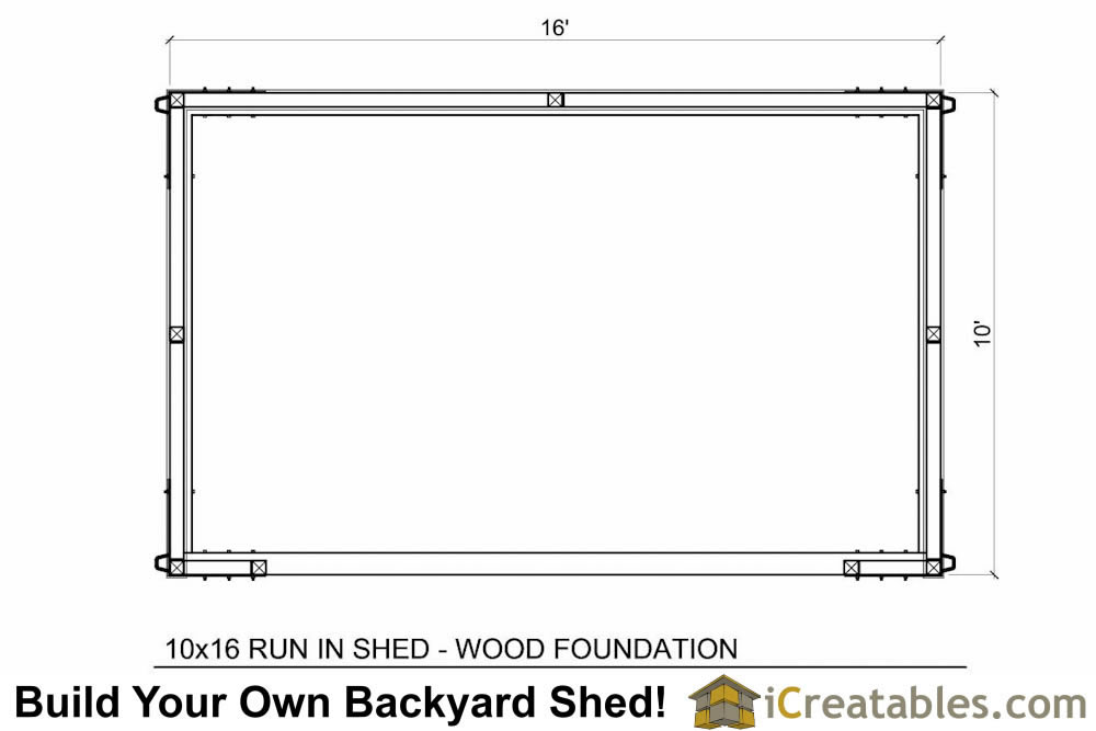 ... Build A Storage Shed Lean To Style Shed Plans 6 X 12 Plans. on 8 x 10