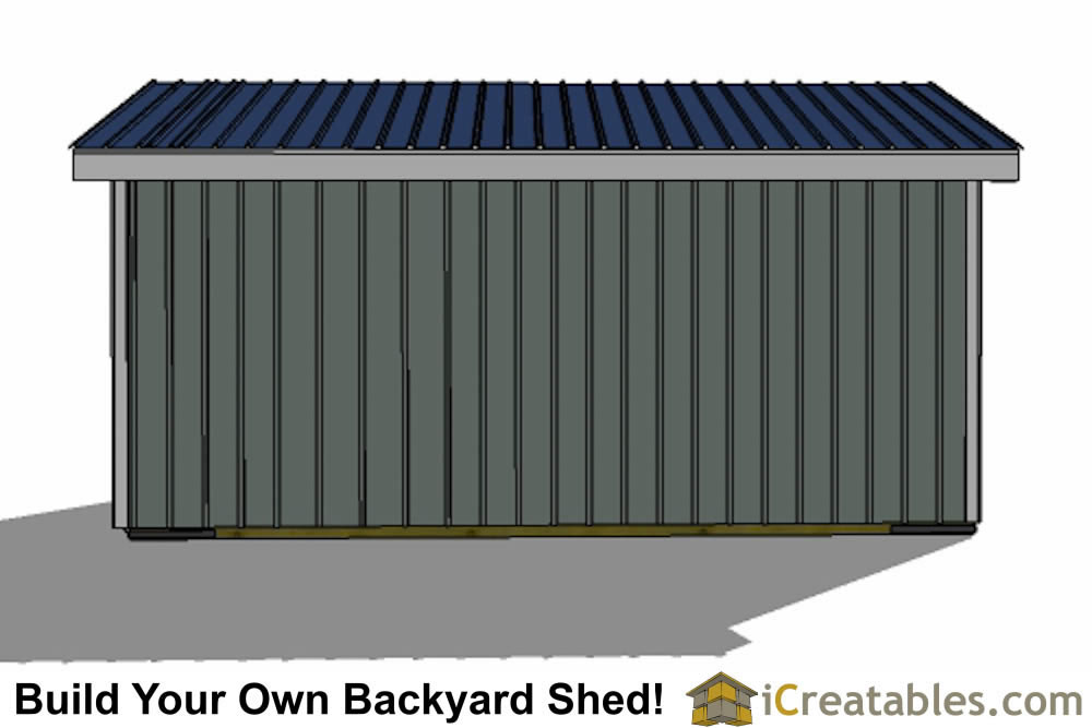 10x20 run in shed plans inside