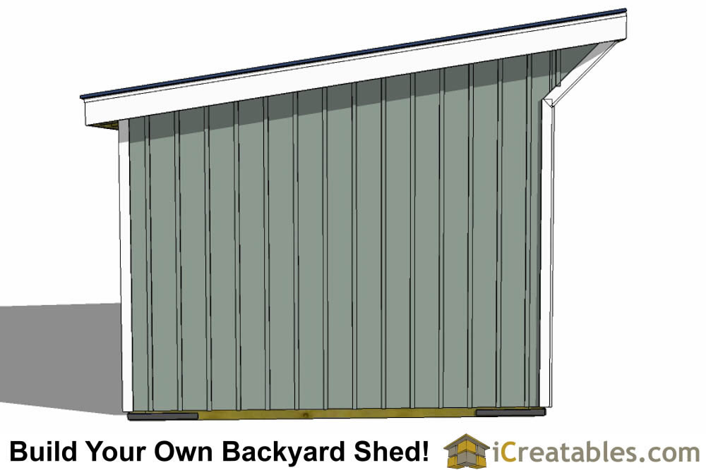 12x16 Shed Plans How To Gambrel 12x16 Shed Plans With