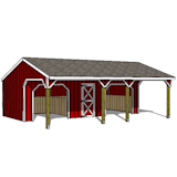 Detail Plans For Horse Run In Sheds Indr