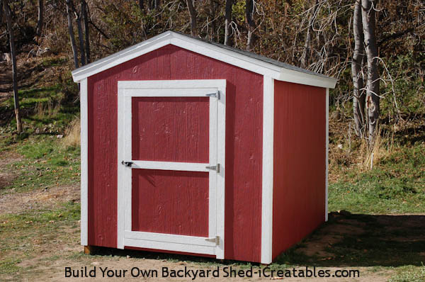 8x10 shed painted