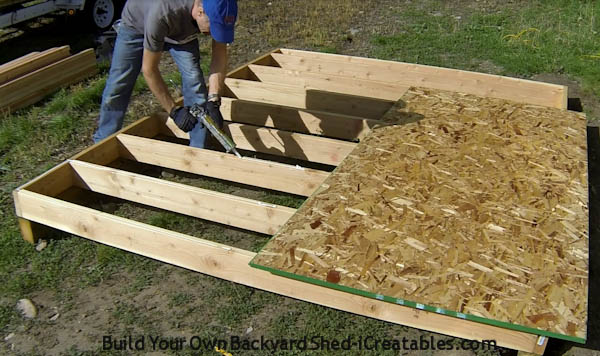 how to glue floor sheeting to floor joists