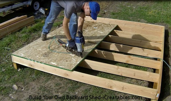 Shed Plans: How to Build a Shed | iCreatables