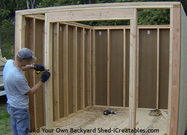 how to build a small shed step by step