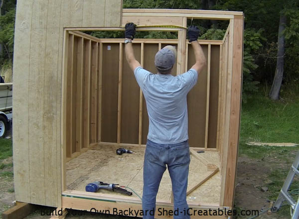 How to install siding on a shed install siding around door opening