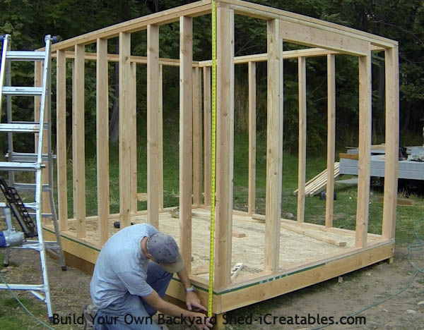 How to build a shed storage shed building instructions - How to build a wooden shed in easy steps ...