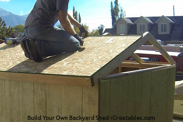 How To Build A Shed Roof | icreatables.com