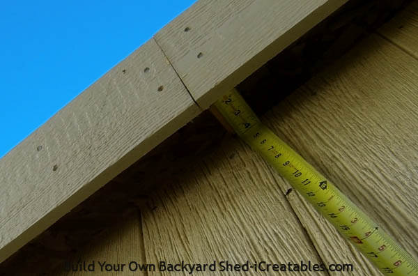 How to install exterior trim measuring soffit size
