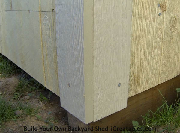 How to install exterior trim front corner overlaps side trim