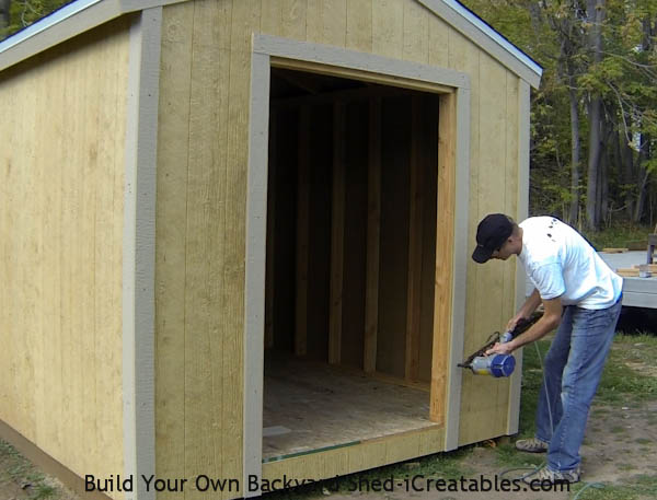 Shed Trim How To Install Shed Trim