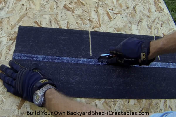 How to install asphalt shingles make starter strip from shingles