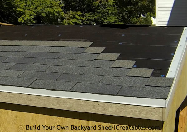 How to install asphalt shingles install first 6 rows of shingles