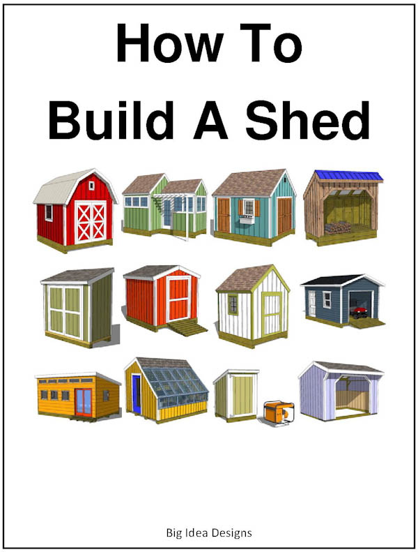 How To Build a Shed Book Cover