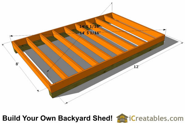How To Build A Shed Floor icreatablescom