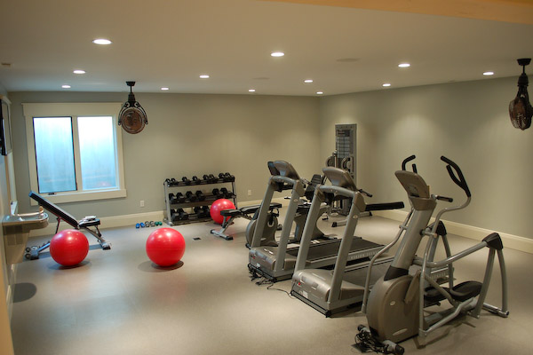 Exercise Rooms In Basements. Basement Workout Room