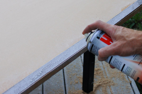 Countertop Edge Banding : step 4 Install The Formica Drip Edge Band