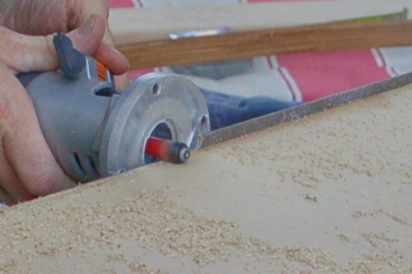 step 7 Sand The Substrate Surface to Remove Glue Or Other Bumpy ...