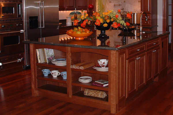 stately kitchen island