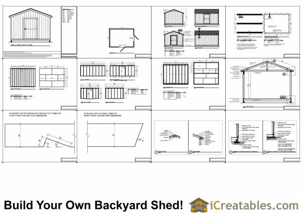 3600x4800 metric garden shed plans
