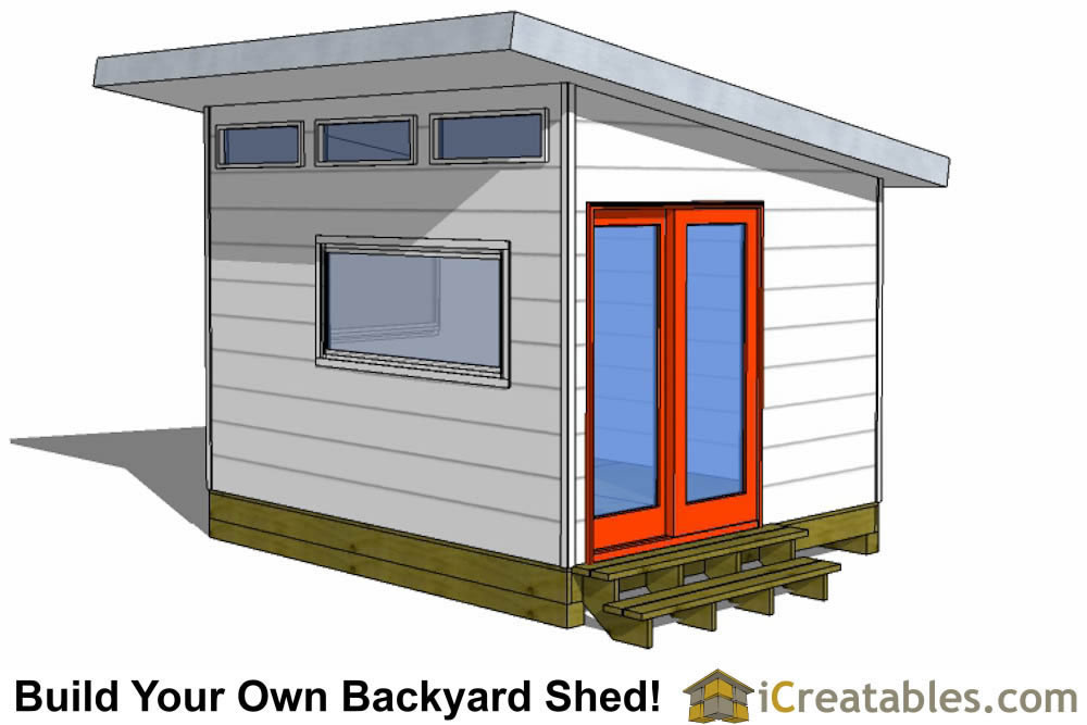 10x12 home office shed plans