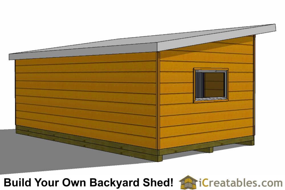 12x20 modern studio shed plans center doors for Modern shed siding
