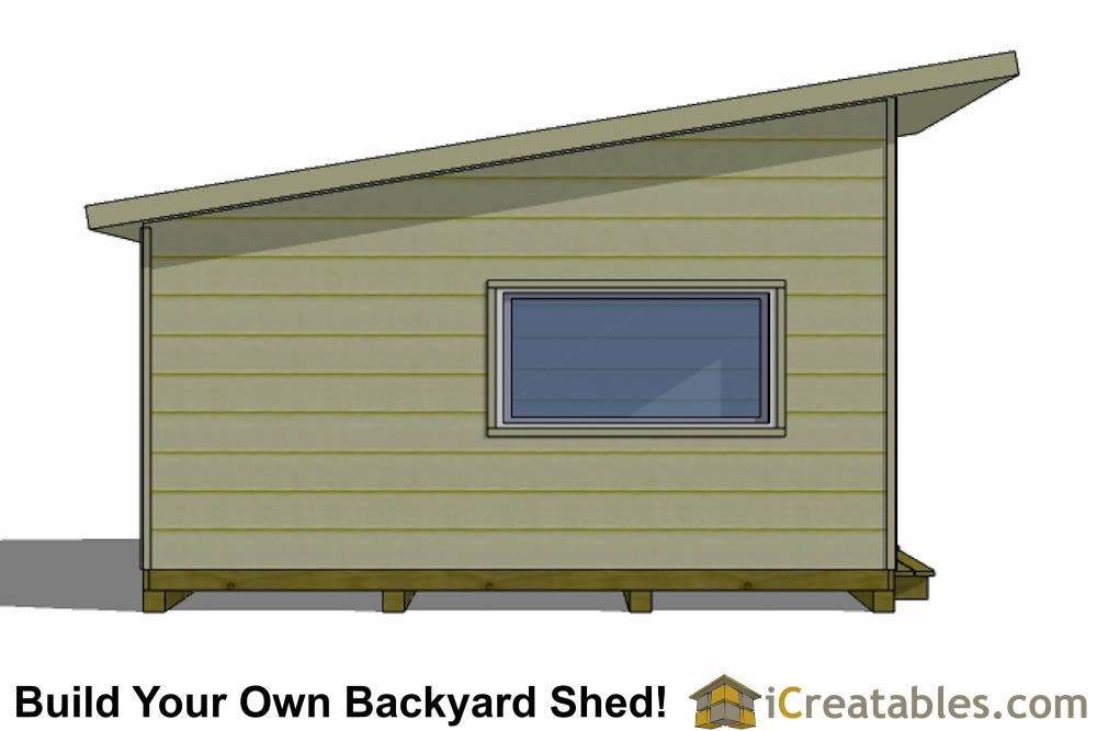 16x12 office shed plans top