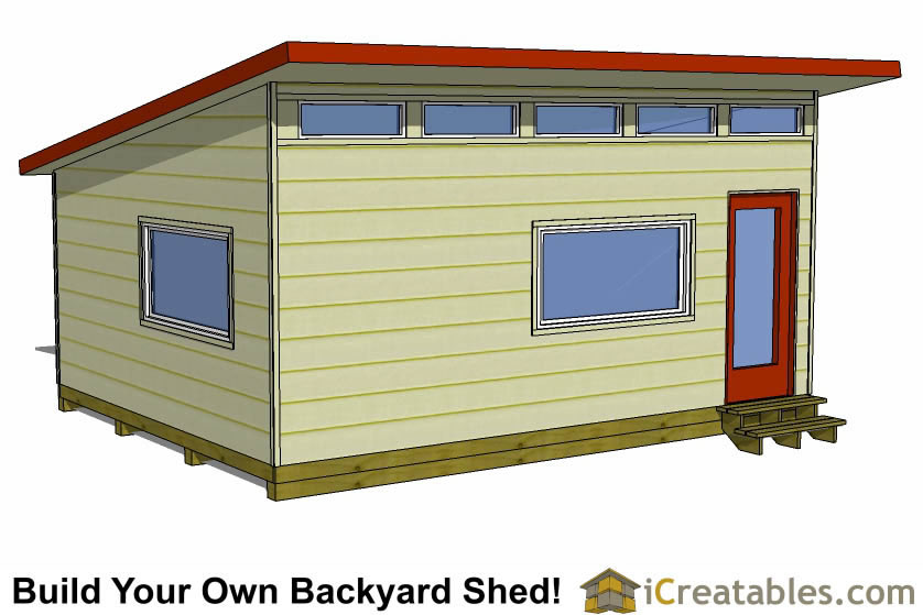 16x20 Shed Plans - Build a Large Storage Shed - DIY Shed Designs