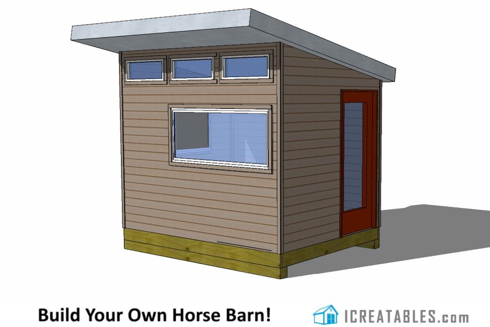 Shed plans diy storage building a