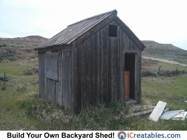 large shed plans photo