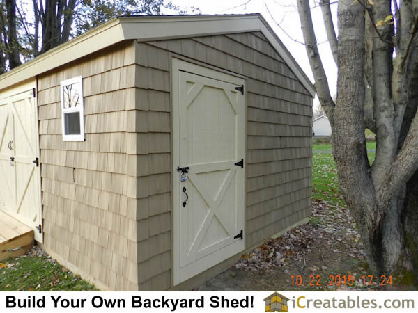 Large shed plans how to build a shed outdoor storage for Large shed plans