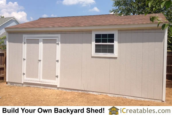 16x24 Gable Shed By iCreatables.com