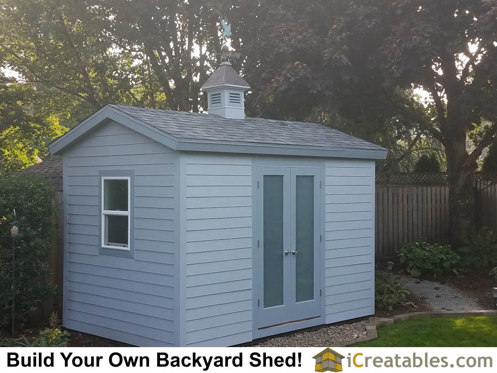 Buy Easy To Build Modern Shed Designs