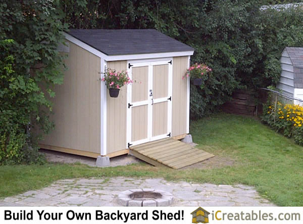 8x12 backyard shed