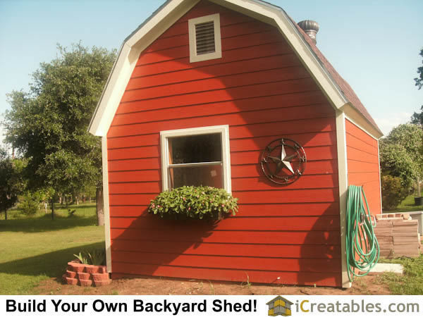 12x16 Small Barn Shed Plans