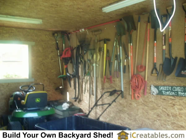 shed yard tool storage