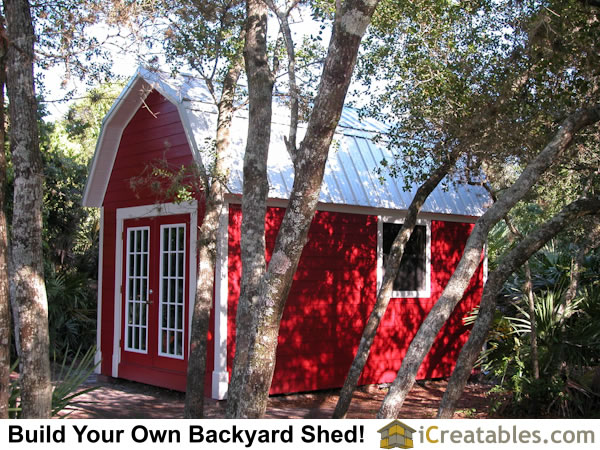 Pictures of Gambrel Sheds | Photos of Gambrel Sheds